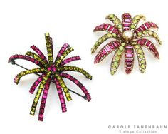 Stunning Vendome and Schreiner brooches.