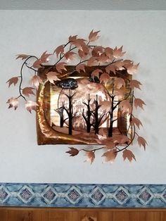 Sculptures, Copper, Clock, Wall, Home Decor, Watch, Decoration Home, Room Decor, Clocks