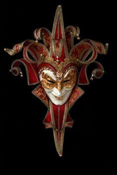 Joker Damascato 13 punte Maschera Veneziana Originale Artigianale Fatta A Venezi | eBay