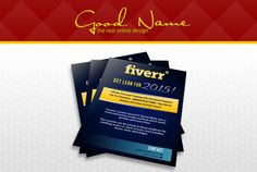 design a professional Flyers and Brochures by goodnamedesign