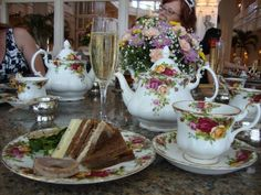 bermuda afternoon tea | Found on silverjames.com- BEAUTIFUL!