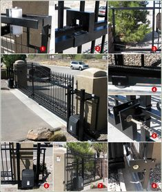 Amazing Gates' driveway gates are easy to install, durable, and look great in front of your house or business!