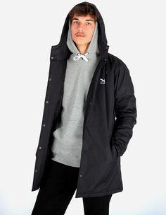 iriedaily - Insulaner Coat black
