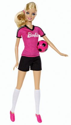 Barbie Careers Soccer Player Doll