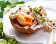 Jajko w roli głównej - Jajka z sosem jogurtowo-musztardowym