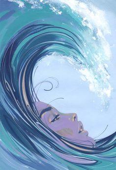 Apres Moi Le Deluge - Fine Art Print by Jonny Ruzzo