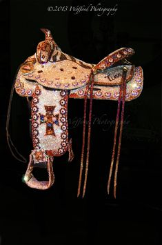LUXURY SWAROVSKI PLEASURE SADDLE BY JACQI BLING STYLE. (Blinged Saddle)