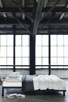 I have a very intense dream to turn an open warehouse space into my home.