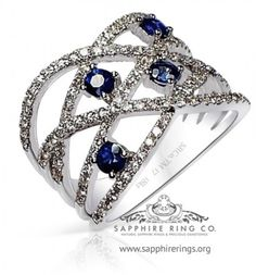 White Gold Sapphire & Diamond Custom Made wedding Band ,Custom made sapphire wedding band set with 4 natural sapphires and 107 round brilliant cut diamonds for sale wholesale sku 3149 or contact us we open 7 days a week 727 797 0007 Sapphire And Diamond Band, Natural Sapphire Rings, Sapphire Jewelry, Blue Sapphire Rings, Sapphire Color, Wedding Band Sets, Diamond Wedding Bands, Wedding Rings, Sapphire Wedding