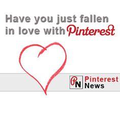 I've fallen in love with Pinterest News  #pinterest #socialmedia #pinterestnews #newspinterest