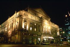 Teatro Colon, Buenos Aires. Considered among the five best concert venues in the world.