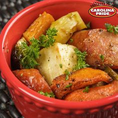 An abundance of hearty vegetables, like parsnips, carrots and potatoes, blend deliciously with Carolina Pride rope smoked sausage. Smoked Sausage Recipes, Veggie Sausage, Carolina Pride, Carrots And Potatoes, Family Meals, Family Recipes, Pot Roast, Food To Make, Chicken Recipes