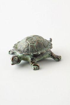 Patina Turtle Trinket Dish! I want it!