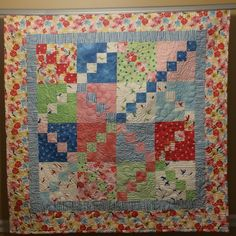 Debby Brown Quilts: Cutie Quilt -- Share & Share Alike