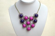 Jewelry Making with Wire and Bead - Make Your Own Pendant for a Bib Necklace - Pandahall.com