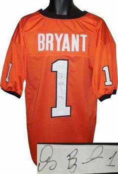 763774d916b Dez Bryant Autographed Hand Signed Oklahoma State Cowboys Orange Custom  Jersey- JSA Hologram by
