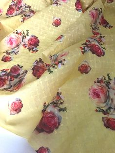 5 Yards in Stock - Hakoba Cotton Embroidered Fabric - Sold by Half Yard and 1 Yard Increments