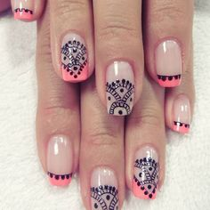 Perfect Nails, Nail Arts, Manicure And Pedicure, Beauty Nails, Hair And Nails, Nail Art Designs, Acrylic Nails, Make Up, Ideas