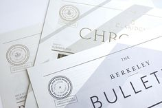 The Maybourne Papers on Behance
