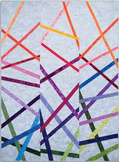 Stix quilt pattern, jelly roll friendly, by Sam Hunter | Hunter's Design Studio | Keepsake Quilting