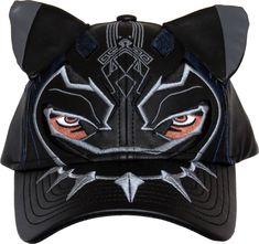 b854d4b2a69 Marvel Comics Black Panther Mask Adjustable Cap – lovemycap Black Panther