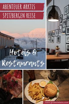 Spitsbergen Travel - Hotel Tips and Restaurant Recommendations for Longyearbyen. Longyearbyen, Tromso, Travel Around The World, Around The Worlds, Reisen In Europa, Travel Guide, Travel Destinations, Places To Go, Gin