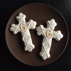 Cross Cookies for Communions, Baptisms, Confirmations, Weddings | https://lomejordelaweb.es/