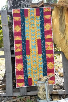 Adventure In All Directions / Table Runner Tutorial