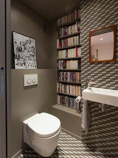 Des livres partout... | WC : styles et tendances | Pinterest ...