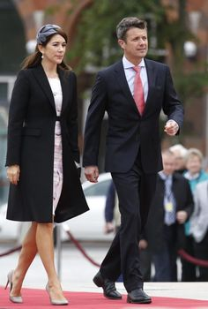 September 17: Crown Prince Frederik and Crown Princess Mary at the Canadian War Memorial in Ottawa