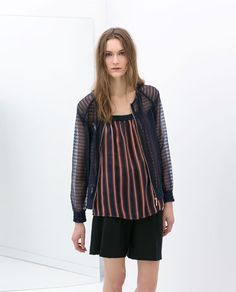 Image 2 of ORGANZA JACKET from Zara