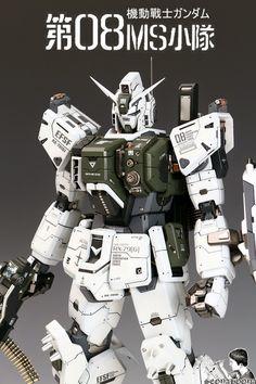 GUNDAM GUY: 1/60 RX-79[G] Gundam Ground Type [Conversion Kit] - Painted Build