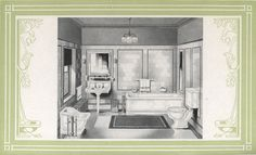 Laurelhurst Craftsman Bungalow: Trenton 1922 Bathroom Catalog