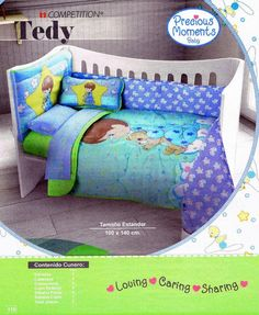 from Catalogo Colchas Competition y Primavera Toddler Bed, Bb, Furniture, Home Decor, Spring 2016, Drawers, Child Bed, Decoration Home
