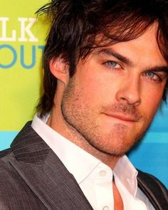 Ian stop biting your lip! You know what it does!