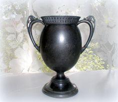 Vintage Victorian Quadruple Plate Silver Urn by LionheartGalleries