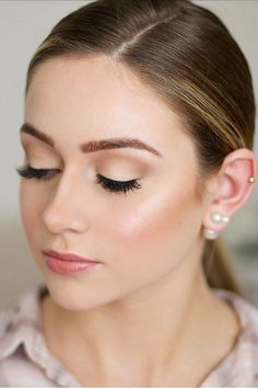 30 Ideas For Natural Bridal Makeup See more: www.weddingforwar... #wedding