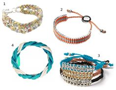 woven braclets