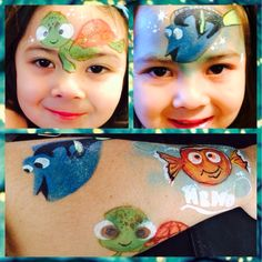 Twinkle Face Painting-Nemo