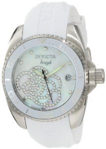 #Invicta 0486 Collection Zirconia Polyurethane  women watch #2dayslook #new #watch #nice  www.2dayslook.com
