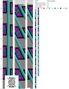 10 around tubular bead crochet rope pattern Crochet Beaded Necklace, Bead Crochet Rope, Beaded Bracelets, Bead Loom Patterns, Beading Patterns, Loom Beading, Beads, Ear Studs, Bangle Bracelets