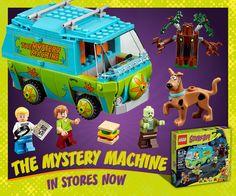 LEGO Scooby-Doo The Mystery Machine http://bit.ly/LEGOScooby-Doo