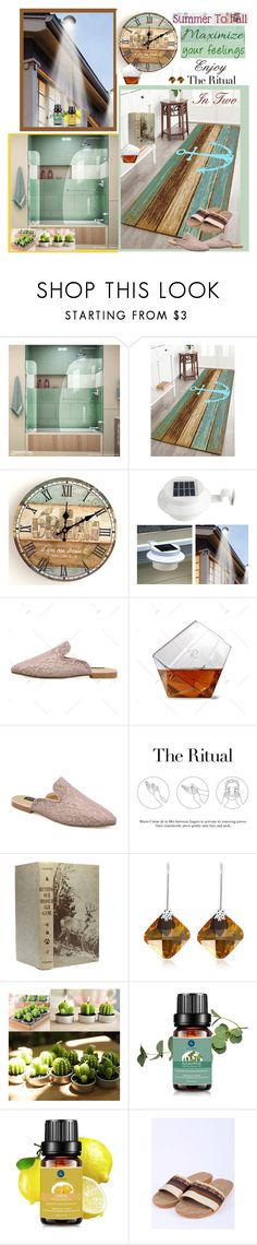 """Bath Rugs"" by carola-corana ❤ liked on Polyvore featuring interior, interiors, interior design, home, home decor, interior decorating, DreamLine and La Mer"