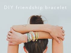 how to DIY friendship bracelets