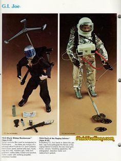 g.i. joe adventure team | Hasbro GI Joe Adventure Team I 1975 Catalog I Plaidstallions