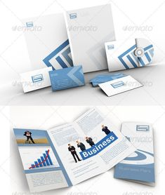 Business Park Corporate Identity Branding Package