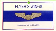 Pilot Flyer 039 s Wings from National Air Amp Space Museum New | eBay