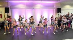 Uptown Funk Easy Kids Dance Fitness Warming up Zumba Choreography - YouTube