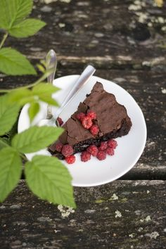 The sound of the forest – Gluten-free chocolate fondant cake