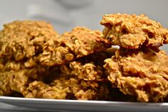 Peanut Butter Oatmeal Banana Cookies (Sugar-Free, Dairy-Free, and Vegan). This blog has tons of healthy recipes